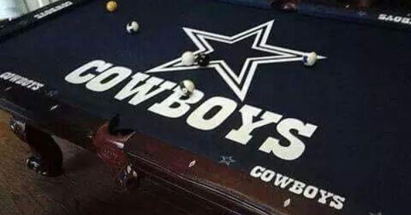 Cowboys Pool Table Dallas Cowboys Room Cowboy Pool Cowboys