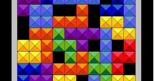 Tetris Quilt Pattern | Quilting (WIP learning) | Pinterest ...