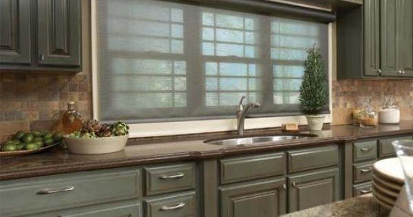 Modern living room window treatments hampton bay window for 1930s bay window curtains