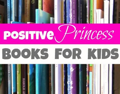 Positive princess books for kids. I love this. I hate when girls