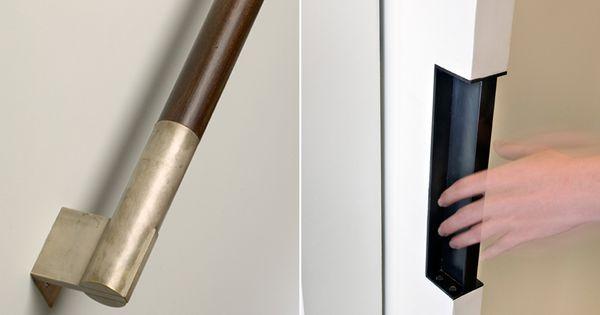 Gorgeous Railing Detail Stairs Pinterest Door Pulls