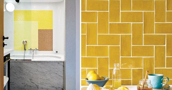 Kleur van het jaar 2016 okergoud kleur kleur trends en keuken - Trend schilderen keuken ...