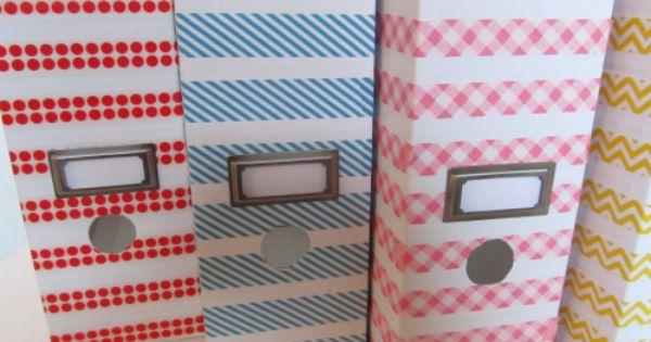 cheap file boxes from ikea fun washi tape cuteness dekorella shop. Black Bedroom Furniture Sets. Home Design Ideas