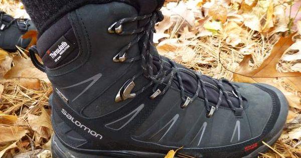 Salomon X Ultra Winter Climashield Waterproof Boots Review Https Sectionhiker Com Salomon X Ultra Winter Climashield Boots Hiking Fashion Waterproof Boots