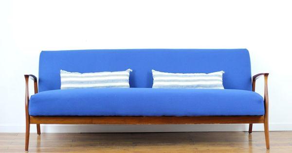 canap convertible vintage bleu indigo canap convertible pinterest indigo vintage et canap s. Black Bedroom Furniture Sets. Home Design Ideas