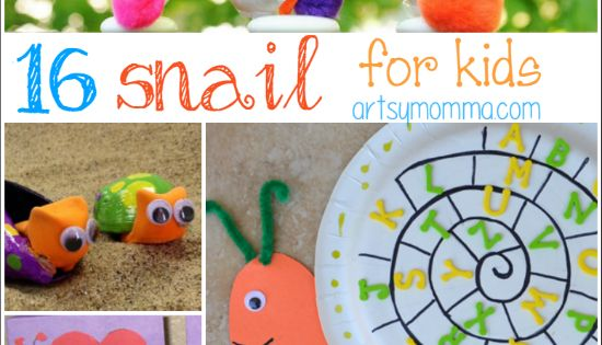 16 Silly Snail Crafts For Kids Of All Ages Snail Craft