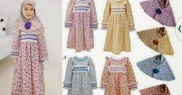 Momsneed 39 Shop Baju Muslim Anak Gamis Sakura Set Baju