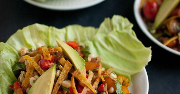 Clean Eating Sweet Corn Salad Wraps