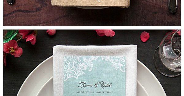 67 Best Images About Napkin Rings Menu Cards On: Napkins, Dinners And Wedding