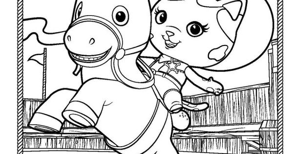 Sheriff Callie coloring page Munchkins Pinterest