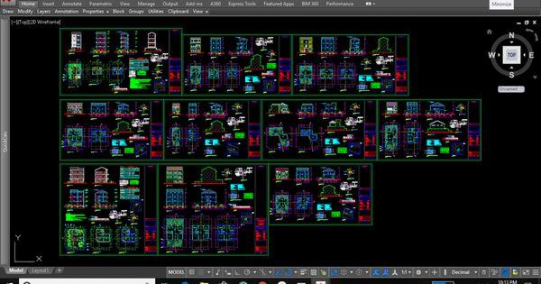 Download Gambar Dwg Pintu Dan Jendela Kumpulan File Dwg Gratis Kumpulan File Autocad Tutorial Membuat Dinding 3d D Desain Rumah 2 Lantai Desain Rumah Rumah