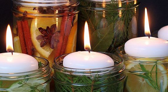 Natural Room Scent Jars for DIY Gifts and Centerpieces (Smell) Just like