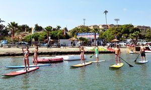 32 For Two Hour Kayak Canoe Sup Or Aqua Cycle Rental At Carlsbad Lagoon Up To 50 Value Carlsbad Lagoon Kayaking San Diego Travel Guide