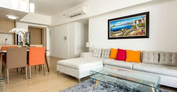 Check Out This Awesome Listing On Airbnb One Shangrila Place Ortigas Luxury Apartments For Rent One Bedroom Apartment Bedroom Apartment Apartments For Rent