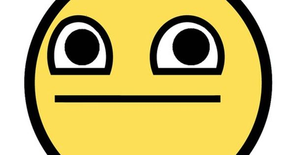 Straight Face Emoji