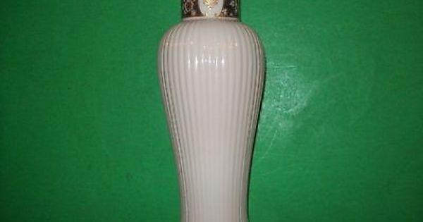 Lenox Old Dynasty Porcelain Bud Vase Ribbed Gold Trim Exc Lenox Vase Bud Vases Vase