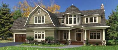 Gambrel Style Homes Colonial House Plans At Family Home Plans
