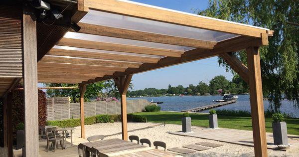 Pergola zonwering hout google zoeken tuin pinterest pergolas and patios - Hout pergola dekking ...
