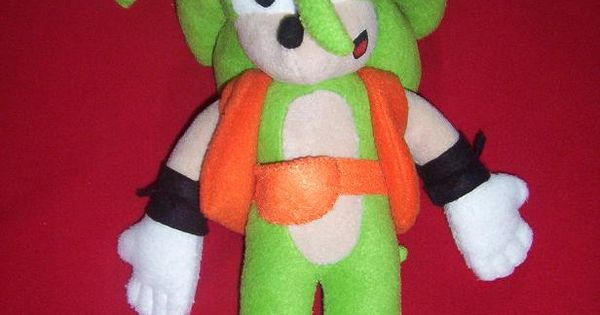 Target Sonic Toys : Manic the hedgehog from sonic my custom plush toys