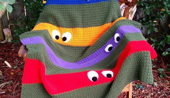 Ravelry Kathy862 S Teenage Mutant Ninja Turtle Blanket