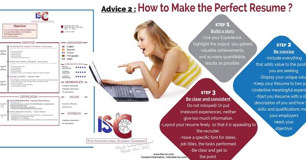 HOW TO MAKE THE PERFECT RESUME Your resume is the key element to - perfect your resume