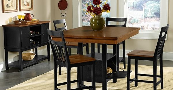 Memphis Dining Room Collection Value City Furniture Counter Height Table Breakfast
