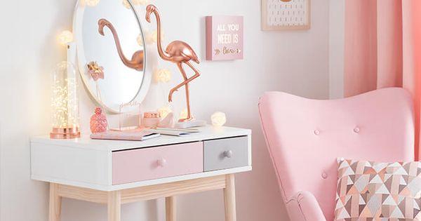 tendance d co modern copper joli boudoir maisons du monde decora o pinterest quartos. Black Bedroom Furniture Sets. Home Design Ideas