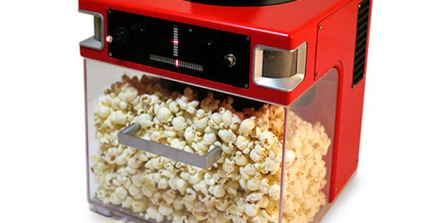 Popinator Popcorn Machine Fires Kernels into Your Mouth Using a Gun (video)