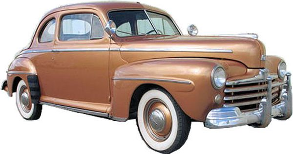 1946 1947 And 1948 Ford Deluxe Coupe Not The Ford Business Coupe