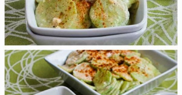 Cucumber salad, Recipes for and Salads on Pinterest