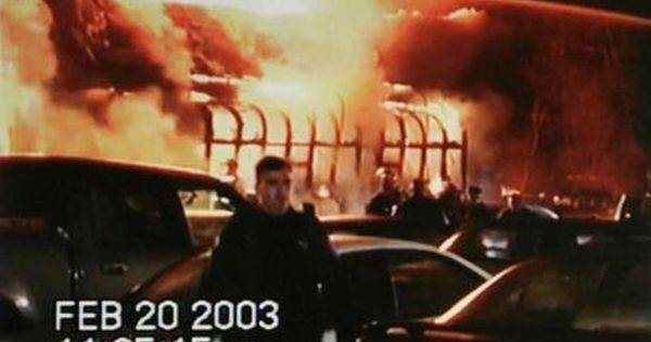 February 2003 Station Nightclub Fire Caused By