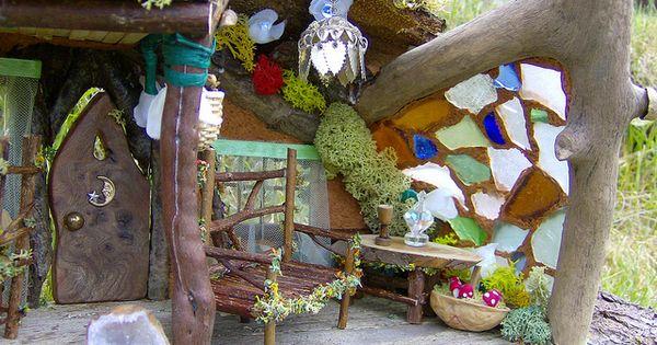 Inside A Fairy House Fairies Pinterest Fairy Houses