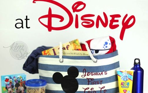 Surviving Disney With Toddlers What To Pack For Your Day