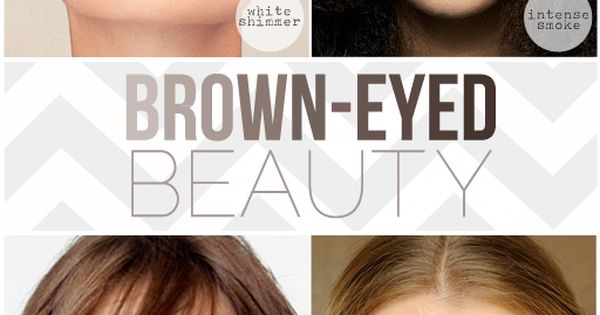 Brown eye makeup tips.