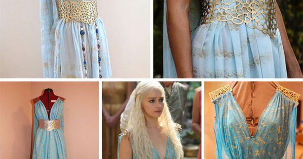 How to daenerys targaryen halloween costume dragon egg for Daenerys targaryen costume tutorial