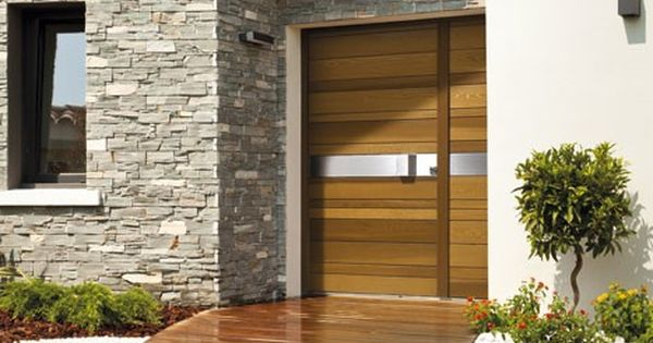 Portes d entree bois red cedar nativ 2 portes pinterest for Portes principales bois