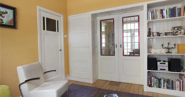 Kamer en suite en glas in lood deuren jaren 39 30 gouda foto 39 s funda kamer en suite jaren 30 - Deco kamer onder dekking ...
