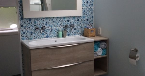 Keramische patroontegels 20x20 toegepast in de badkamer 19 ti tegelhuys tegelhuys - Badkamer imitatie vloertegels ...