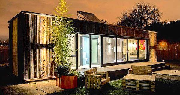 Prototype pour construire une maison container en 3 jours shipping containe - Construire sa maison en container ...