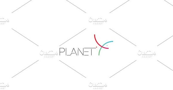 Planet X Logo inspired by spaceX