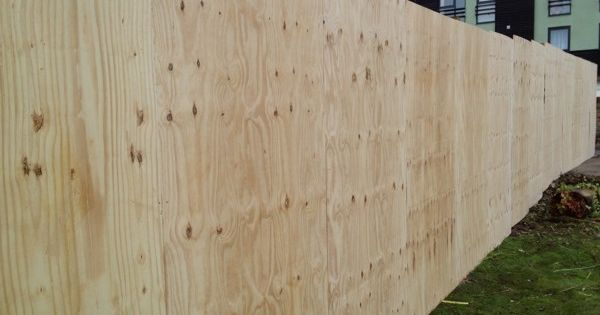 Plywood Fence Cool Things Pinterest Plywood Privacy