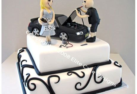 car guy wedding cake topper car wedding cake for mechanic novelty cake 12388