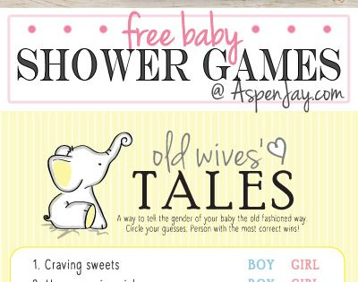 old wives tales baby shower game pdf