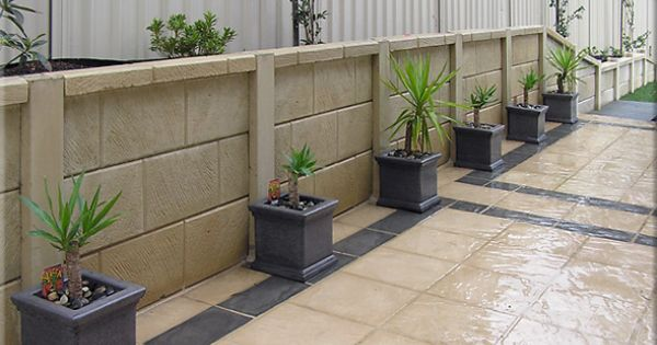 retaining wall idea | my green house and garden
