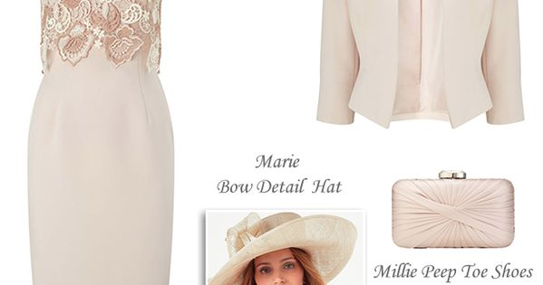 Phase Eight Spring Mother Of The Bride Outfit Cameo Pink