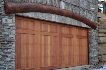 Preserving Nature At Innoshowen Foscoe Nc Mountain Home Craftsman Style Garage Doors Craftsman Door Craftsman Garage Door