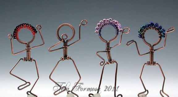 Free Mini Tutorial Tela Formosa Jewelry Designs Wire