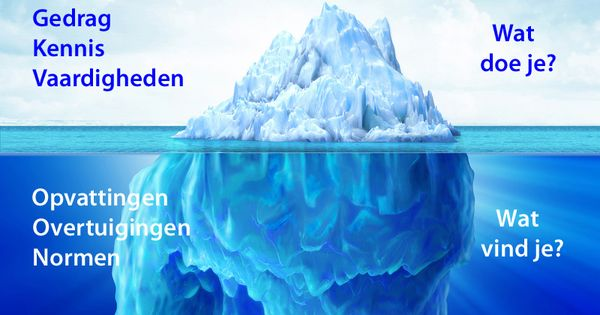 Citaten Leiderschap : Ijsberg van mcclelland gedrag en stijl pinterest