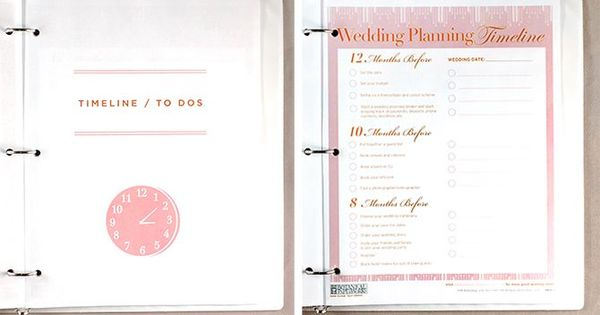 Printable Wedding Planner Binder Planning A Rustic: Get Access To These FREE Printables To Help You Create The