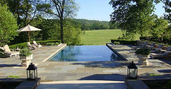 Bronze Town Country Pools Springfield Va Fred Welter And Burton Gray Country Pool Infinity Pool Backyard Pool Landscaping